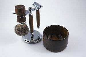 DSC02236 - 4 piece shaving set - deluxe