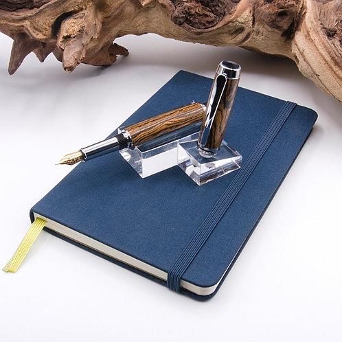 Baron - Fountain Pen in Chrome / Stylo plume en chrome