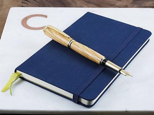 Baron - Fountain Pen in Gold / Stylo plume en or