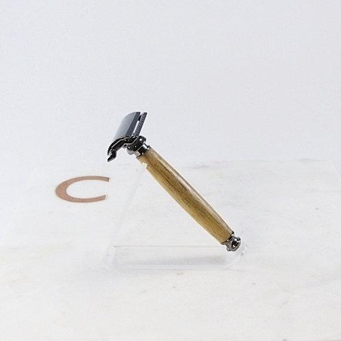 Gunmetal Safety Razor / Rasoir sûreté bronze à canon