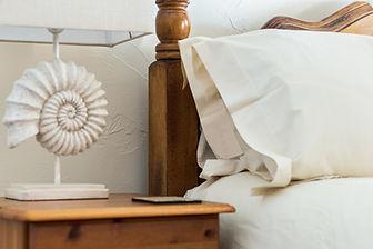 Ammonite king size bedroom Appledore North Devon holiday cottage Sleeps 6.jpg