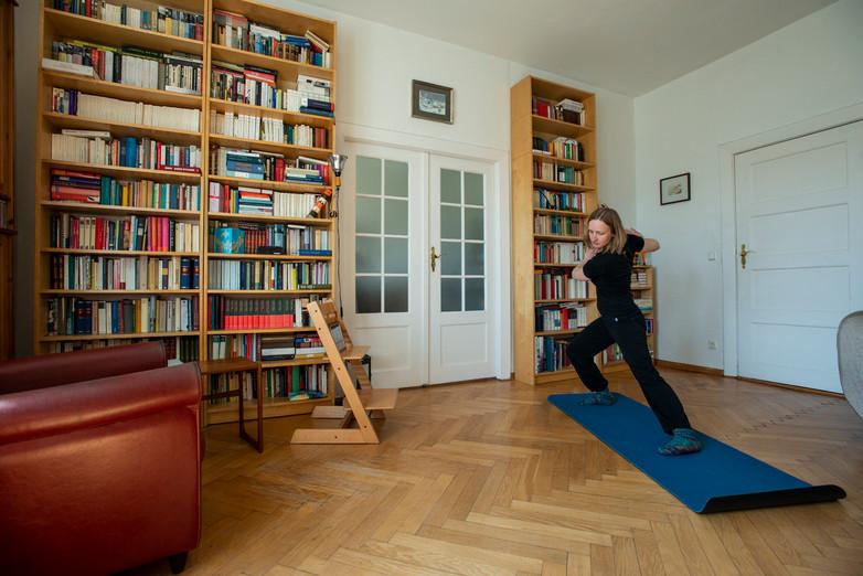 Jana beim LohanGong, Prenzlauer Berg  © Marcus Lieberenz/bildbuehne.de