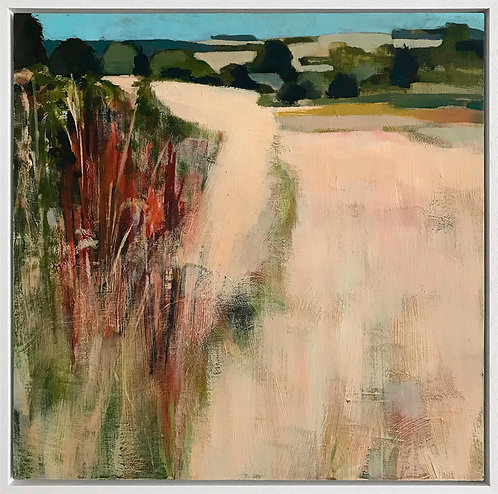 September Grass Stubble by Andrew Milne