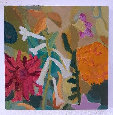 Summer's Flowers  Nicotiana by Georgie Richardson