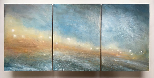 Regency Strip (Triptych) by Nichola Campbell
