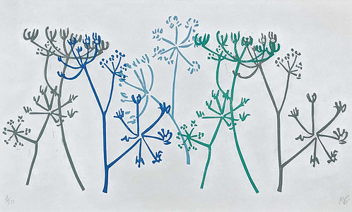 Hogweed Assembly by Melissa Birch
