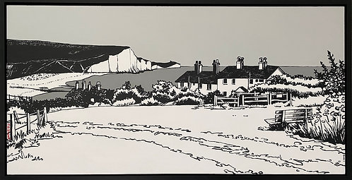 The Coastguard Cottages by Flo Snook