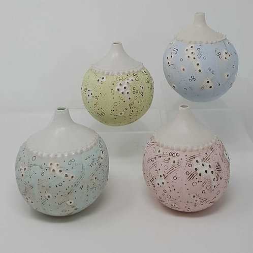 Sea Urchin Bud Vases by Jane Bridger