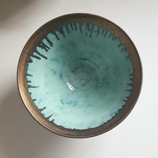 Large Summer Clouds Bowl