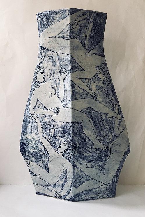 Tall Vase by Yolande Beer