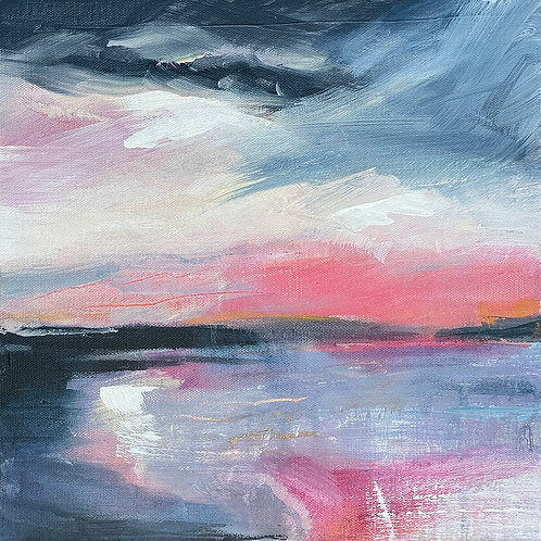 Skyscape Pink by Kitty McCurdy