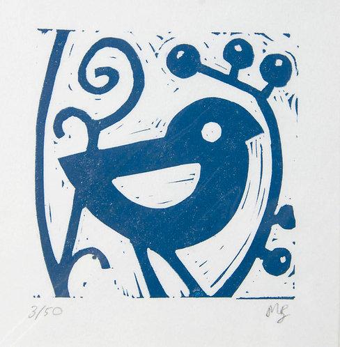 Blue Bird's Friend by Melissa Birch