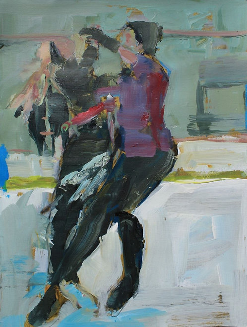 Skaters Dance IV by Gabrielle Lord