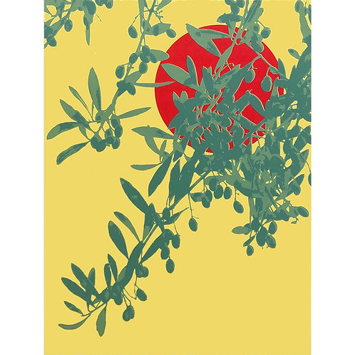 Offering an olive branch 1 by Lucy Cooper
