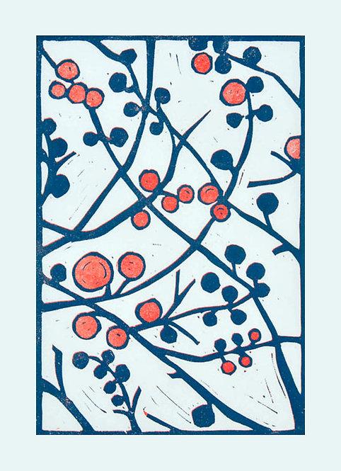 Winter Crabapple by Melissa Birch