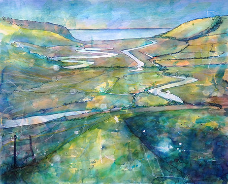 Cuckmere Wind by Lyndsey Smith