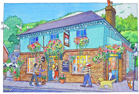 The Snowdrop Inn, Lewes by Lyndsey Smith