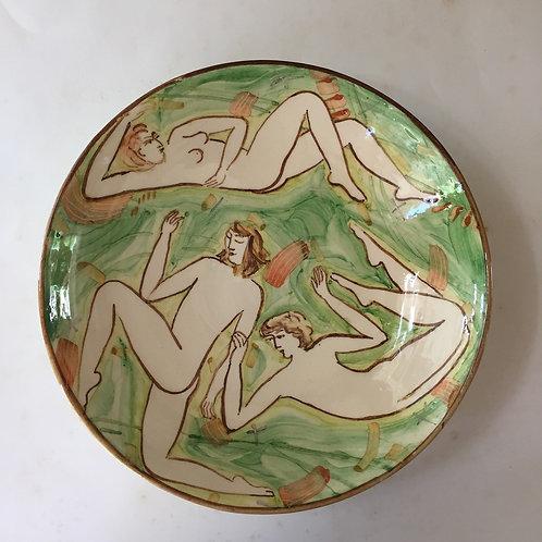 Green Bowl by Yolande Beer
