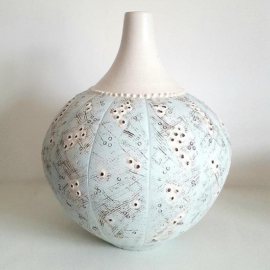 Turquoise Sea Urchin Bottle
