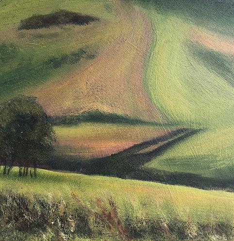 Downland Mini Hillside Shapes by Janice Thurston