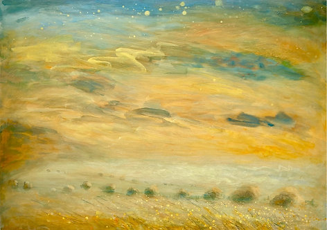 Mid-Summer's Dream, Ditchling Beacon by Nichola Campbell