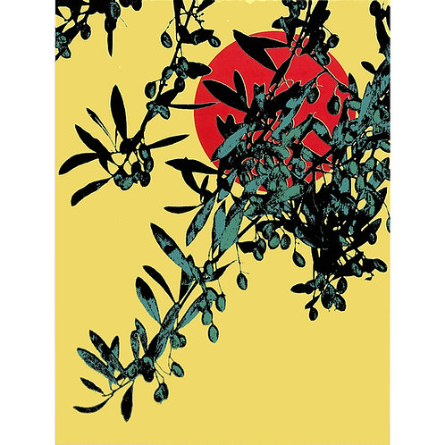Offering an olive branch 2 by  Lucy Cooper