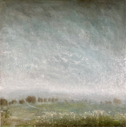 Spring Shower on the  Downs by Nichola Campbell