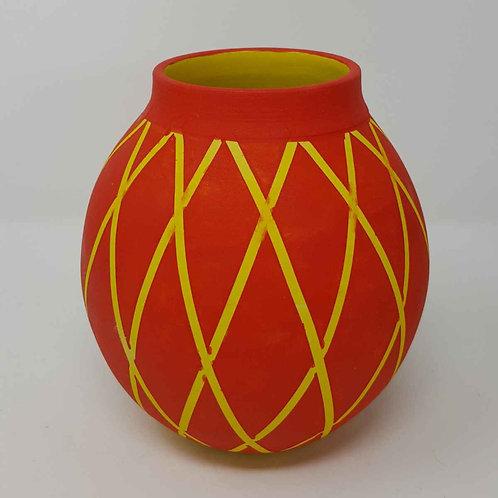 """Circus"" Moon Jar by Jane Bridger"