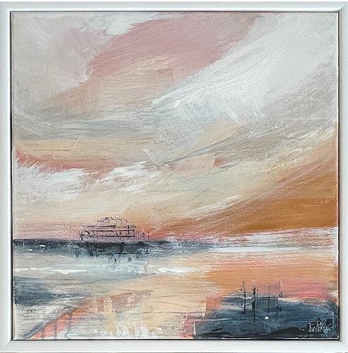 Pier Study Three by Kitty McCurdy