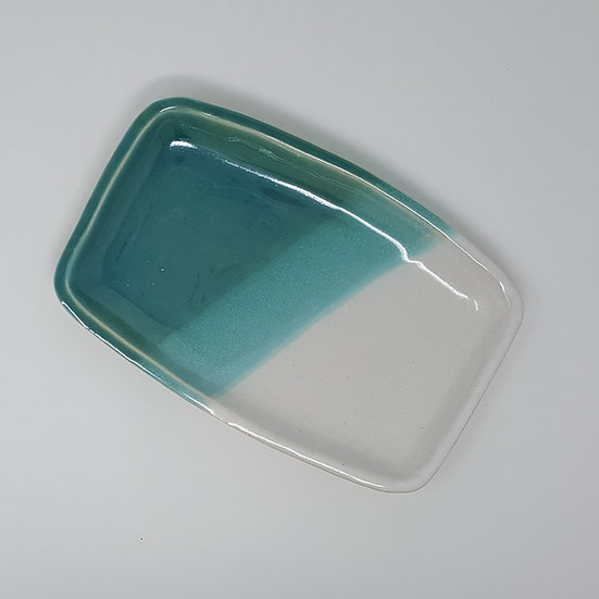Hygge Turquoise Tray