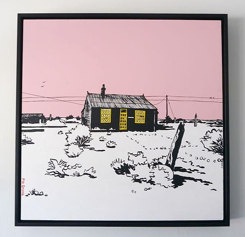 Prospect Cottage, Dungeness by Flo Snook