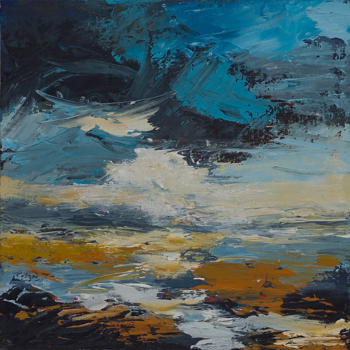 Shadows on the Shore 1 by Eva Wibberley