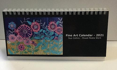 Desk Calendar 2021 by Sue Collins