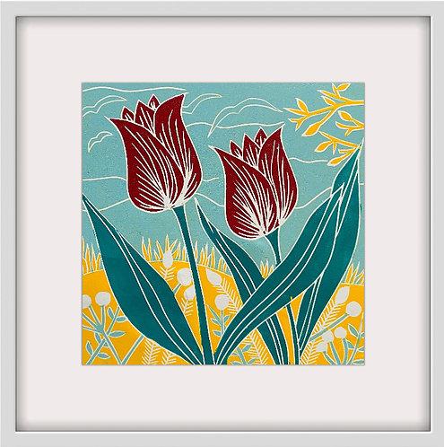 Tulip Duo by Sue Collins