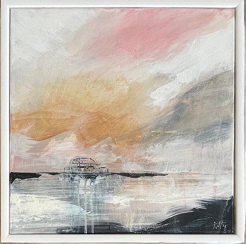 Pier Study One by Kitty McCurdy