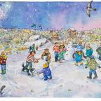 SMIT011,LyndseySmith,SnowmenontheRailway