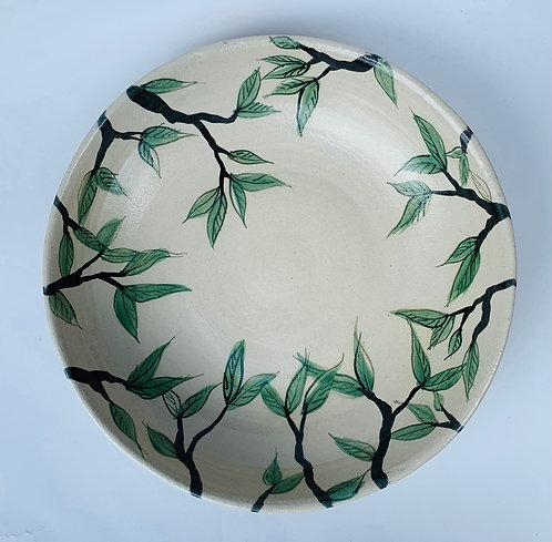 Leaf Bowl by Yolande Beer