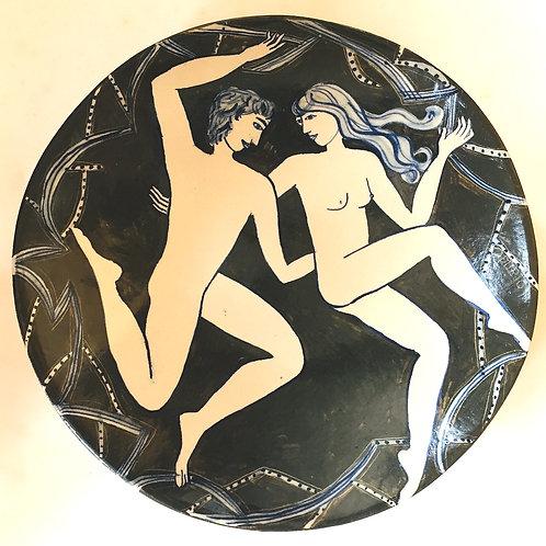 Dancing Couple by Yolande Beer