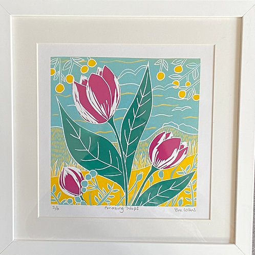 Amazing Tulips by Sue Collins
