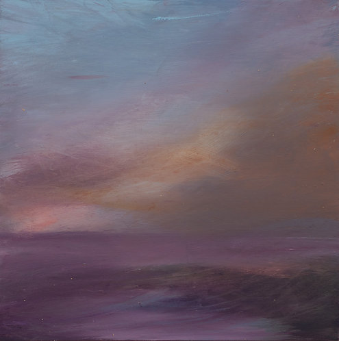 Purple Sky and Sea 2 by Eva Wibberley