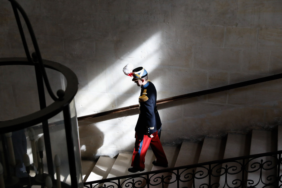 Officier Saint-cyrien, Invalides