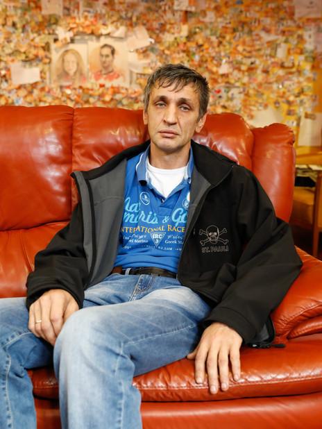 Originaire de Saint-Petersbourg, German a signé un contrat de 10 mois à bord du CMA CGM SAMBHAR. Il ne se connecte pas car sa femme n'aime plus les communications par Skype.