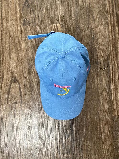Carolina Blue Ylw/Pink Dad Hat