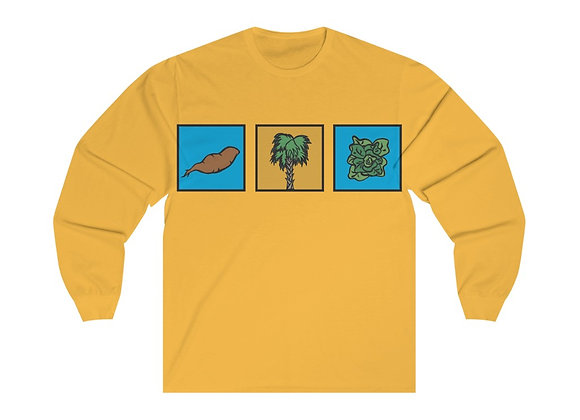 Greens Long Sleeve Tee
