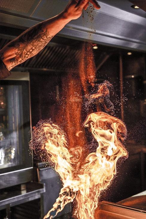 restaurant grill cu carbuni