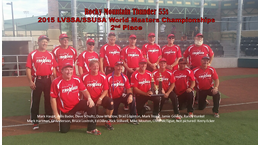 2015 Rocky Mountain Thinder LVSSA/SSUSA World Masters  2nd Place
