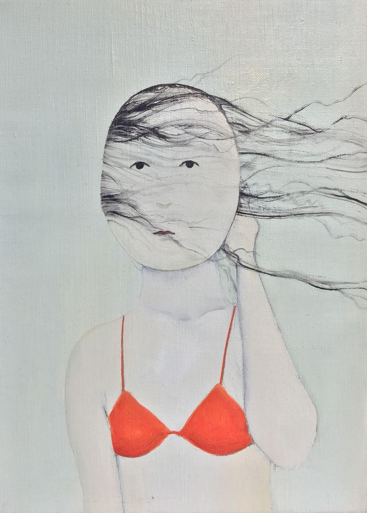 Tomohiro Shimizu, Portrait, 25 x 34