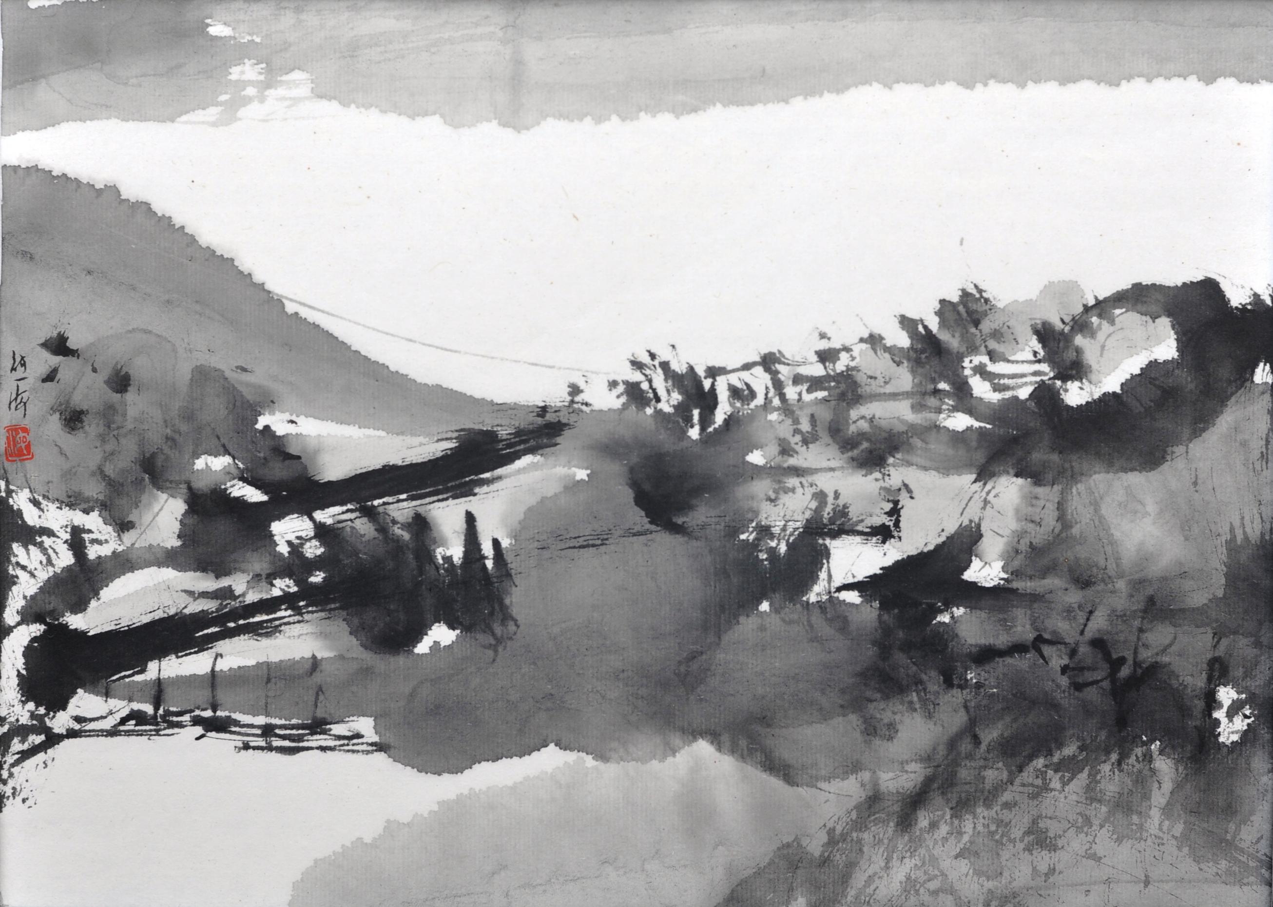水墨山水印象系列   2014