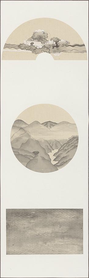 雲 山 水  Clouds Mountains Rivers