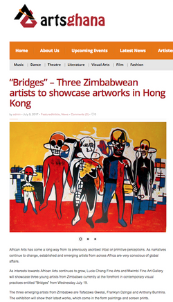 Bridges Exhibition - artsghana
